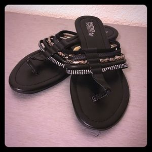Strappy Bling Sandals